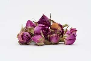 غنچه گل محمدی خشک شده - بسته 40 گرمی